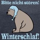 winterschlaf-baer-spruch-t-shirts-frauen-t-shirt-mit-gerollten-aermeln