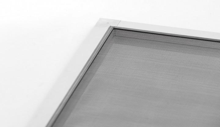 "Fliegengitter Fenster ""START"", Alurahmen - 120 x 140 cm - SET"