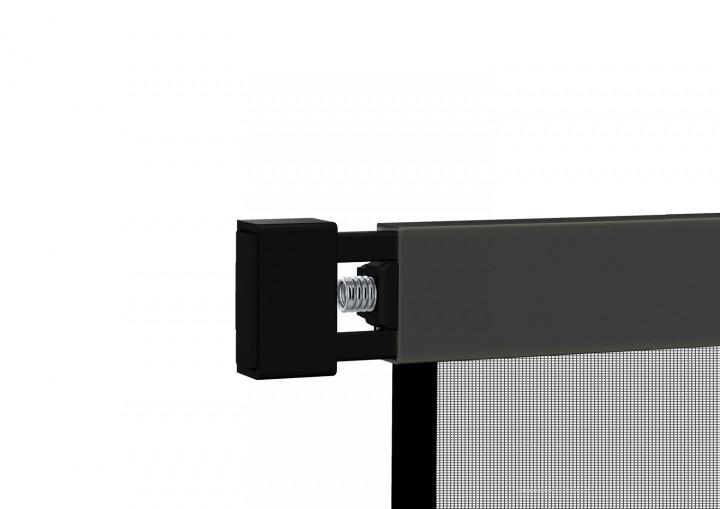 Klemm-Lamellenvorhang COMFORT Detail Feder anthrazit