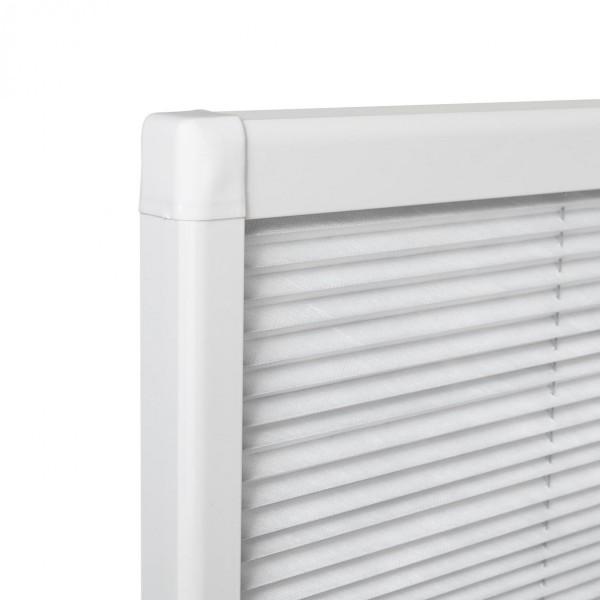 Sonnenschutz Dachfenster Plissee Ecke