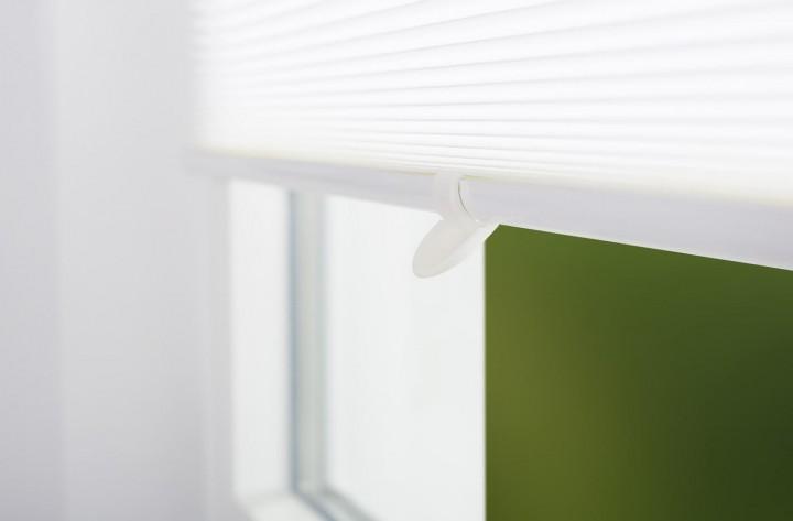 Sonnenschutz Fenster Doppelplissee Griff