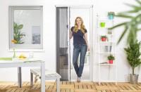 Insektenschutz Plissee Tür, Kunststoff - 125 x 220 cm