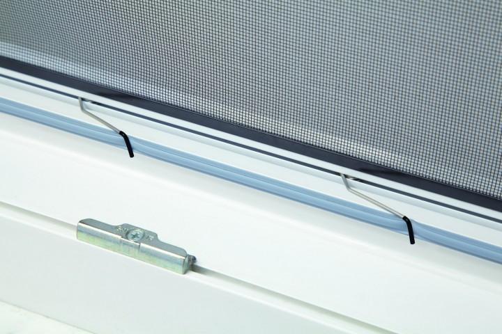 Fliegengitter Fenster Master XL Klemmfedern
