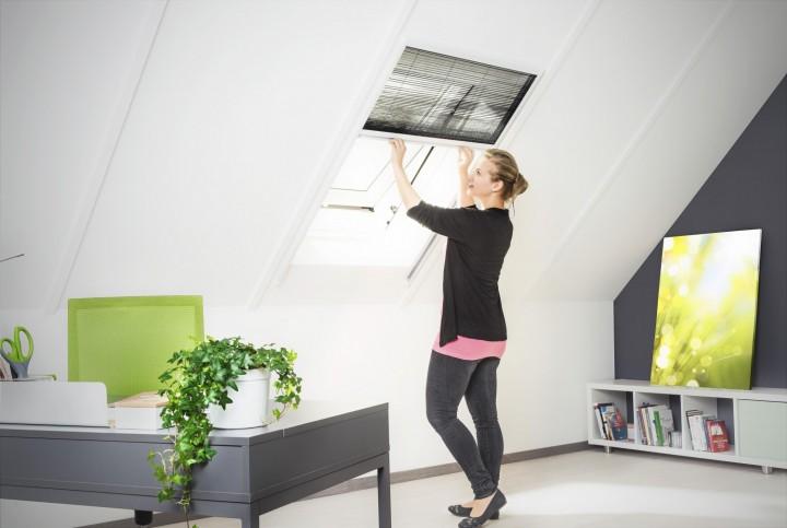 Dachfenster Plissee XL Ambiente