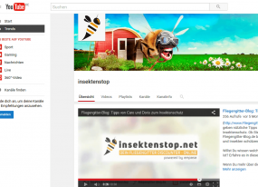 Insektenstop.net bei YouTube