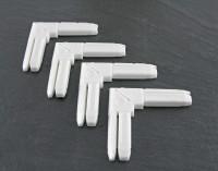 """Eckverbinder für Fenster """"BASIC"""", Kunststoff - 4er Set"""