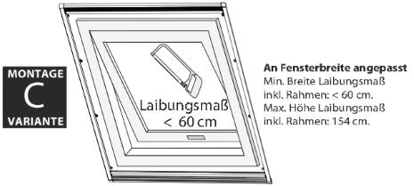 Fliegengitter für Dachfenster güntig bestellen