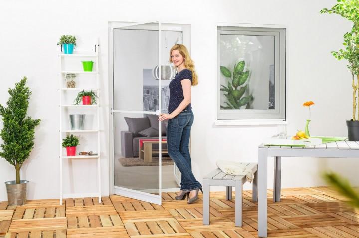 insektenschutz pendelt ren mit ohne bohren insektenstop. Black Bedroom Furniture Sets. Home Design Ideas