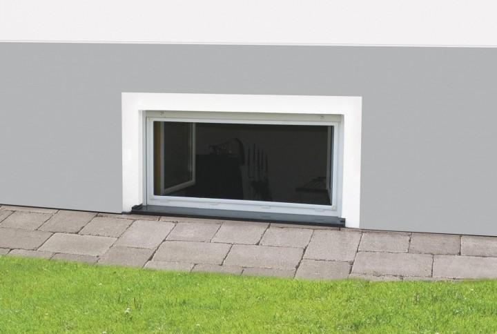 """Fliegengitter Fenster Nagerschutz """"MASTER SLIM"""", Aufgebaut - Zuschnitt - Alurahmen"""