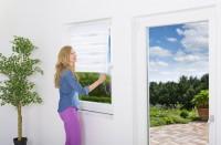 """Sonnenschutzrollo Fenster """"Duo"""", weiß"""