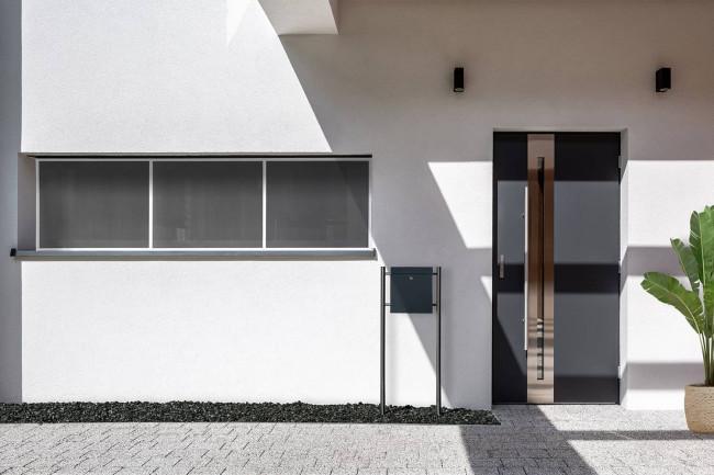 """Fliegengitter Fenster """"MASTER SLIM XXXL"""", 100 x 300 cm - Alurahmen"""