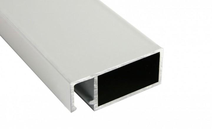Fliegengittertür Basic Profil Weiß