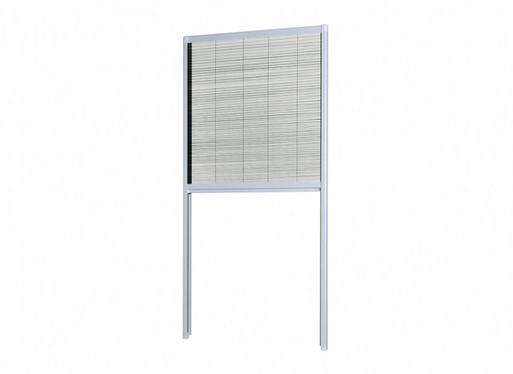 Insektenschutz Dachfenster Plissee Produktbild silber
