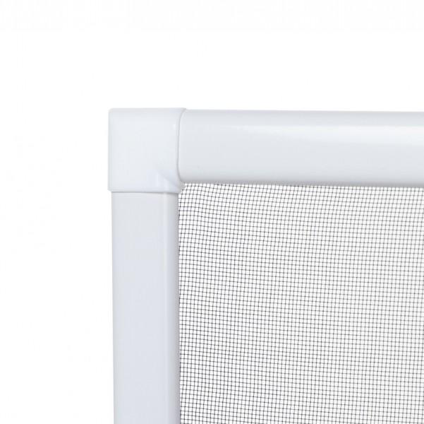 Fliegengitter Fenster Basic Eck weiß