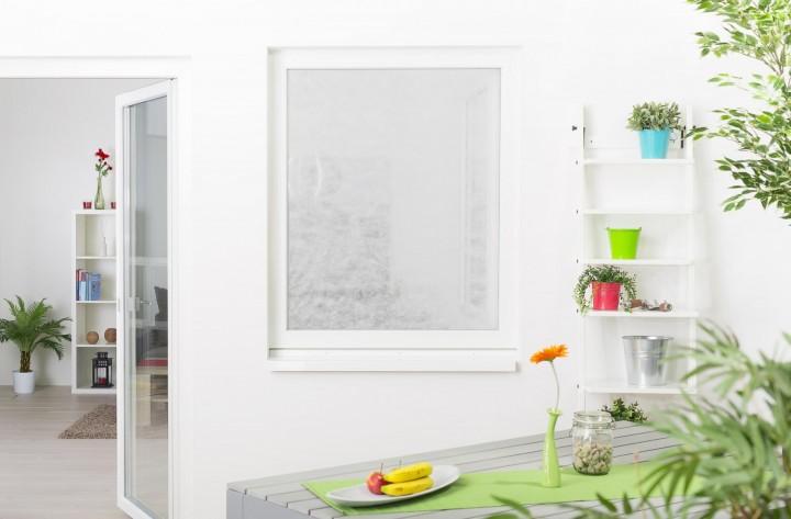Pollenschutzvlies für Fenster mit Klettband