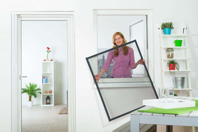 "Fliegengitter Fenster ""MASTER SLIM"""