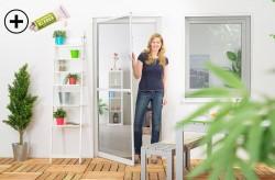 insektenschutz t ren ohne bohren auch fenster insektenstop. Black Bedroom Furniture Sets. Home Design Ideas