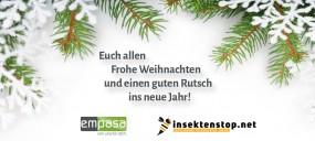 Insektenstop wünscht Frohe Weihnachten!