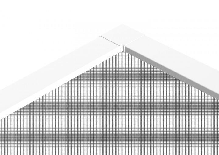 """Teleskop Fensterbausatz """"FAST"""", 120 x 140 cm - weiß"""