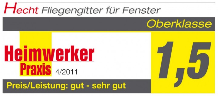 Fliegengitter Fenster Master Heimwerker Praxis Logo