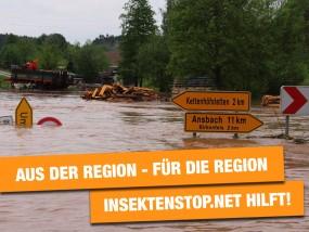Spendenaktion für Hochwasseropfer
