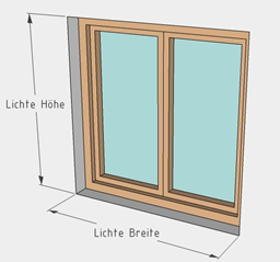 wie messe ich richtig fenster t ren dachfenster lichtsch chte zebrainsectscreens. Black Bedroom Furniture Sets. Home Design Ideas