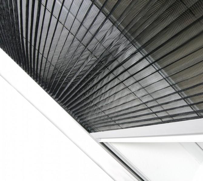 Dachfenster Plissee Plisseegewebe