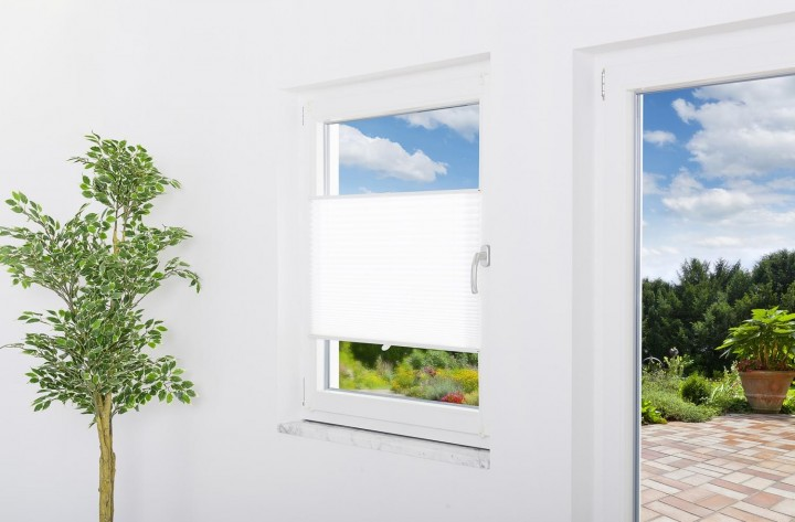 Sonnenschutz Fenster Plissee Ambiente