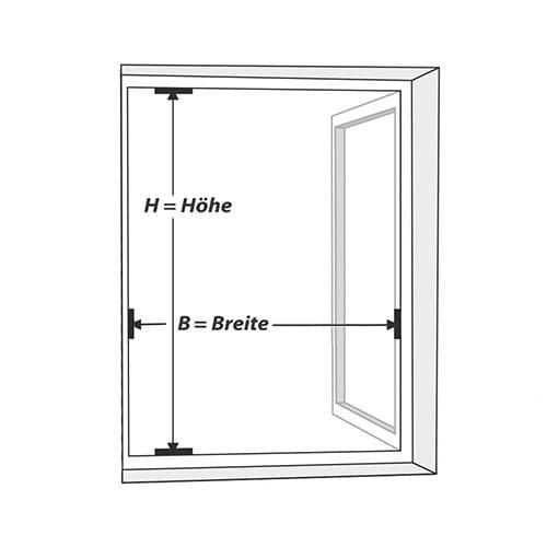 Wie messe ich Fenster