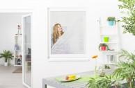 Pollenschutzvlies Fenster mit Klettband, 130 x 150 cm - 3er Set